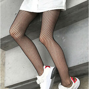 Fashion-Baby-Kid-Mesh-Stockings-Girl-Fishnet-Stockings-Black-Pantyhose-Tights-UK