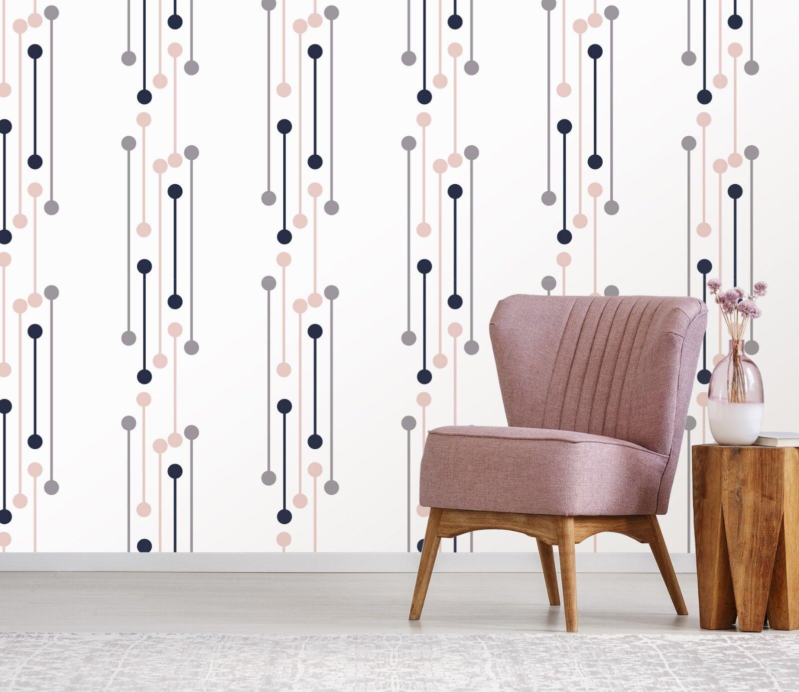 3D Stylish Lines Point 2 WandPapier Mural Wand Drucken Decal Innen Murals AU Lemon