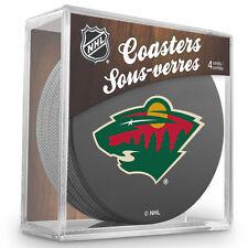 Official National Hockey League Licensed Minnesota Wild Coaster Set