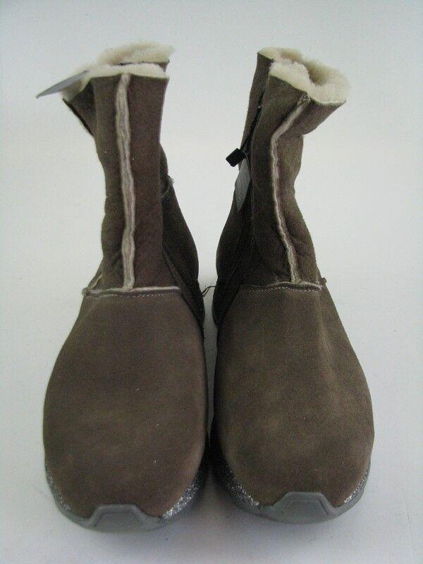 Daniel Hechter Emmy 927-29340 botas de cuero Taupe