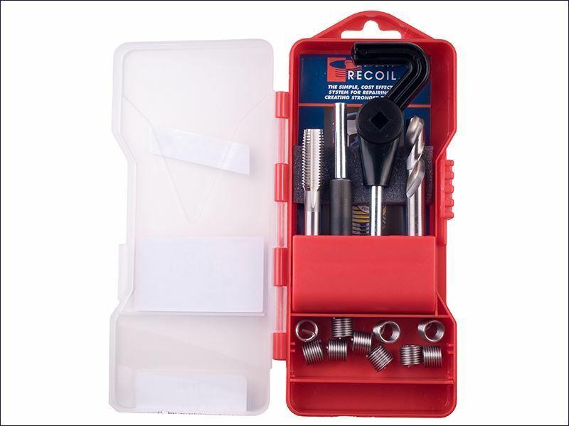 Recoil Juego de reparación de roscas métricas mediano M12.0-1.50 inserciones