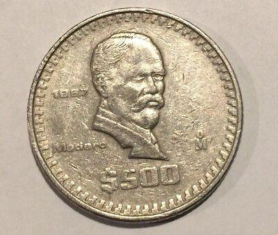 1987 Mexican Coin 500 Ebay