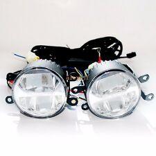 1400LM 24W 6000K Bifocal LED Fog Lamp + DRL for Opel, Automatic light-sensitive