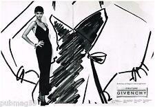 Publicité Advertising 1994 (2 pages) Haute Couture Givenchy par Herb Ritts