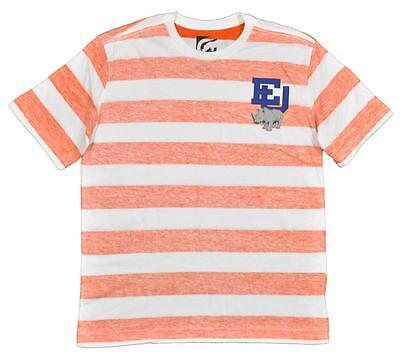 Ecko Unltd Big Boys Orange /& White Striped Top Size 10//12 14//16 $26