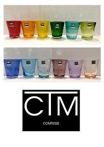 Comtesse-Samoa-12-bicchieri-Acqua-h-cm-10-12-Colori-Rivenditore