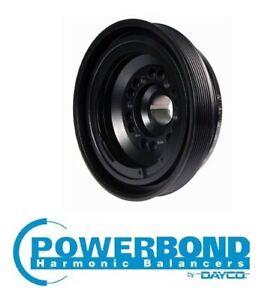 POWERBOND RACE PREF. 10% O/D HARMONIC BALANCER FOR HSV SV6000 VZ LS2 6.0L V8