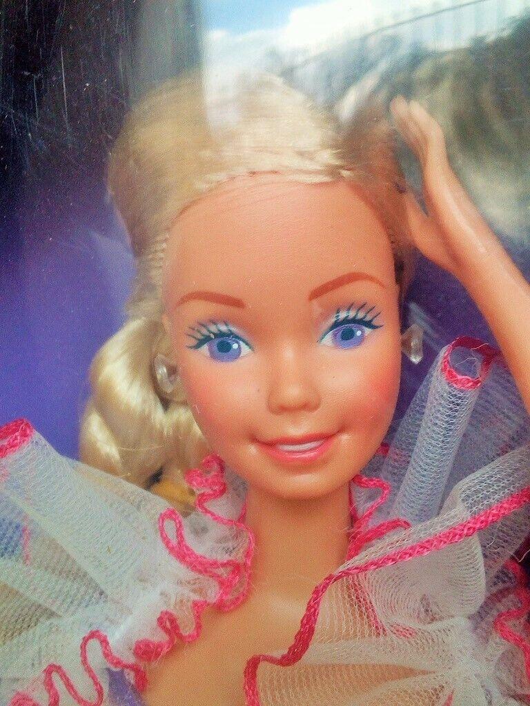 Barbie vintage rarissima FRUHLINGSGAUBER  RARA VERSIONE 1983HAWAIIAN  SUPERSTAR.