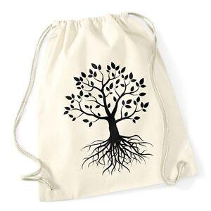 Hipster-Turnbeutel-Lebensbaum-Tree-of-Life-Baum-des-Lebens-Geschenk-Gymsac