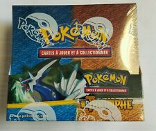 Pokémon heart Gold Soul Silver Triomphe Booster Pack Box  Sealed French