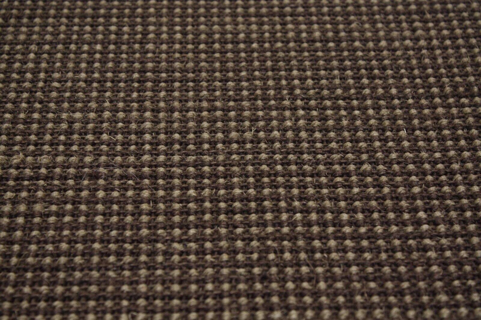Sisal alfombra umkettelt café estampadas café umkettelt 200x300cm 100% sisal Braun gekettelt 27bb79