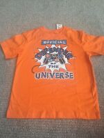 Boys T Shirt Video Games Defender Of The Universe Orange 5/6