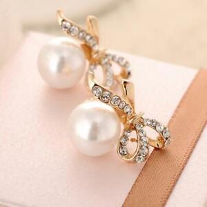 gioielli-strass-le-donne-crystal-lady-pearl-bowknot-orecchini-orecchino