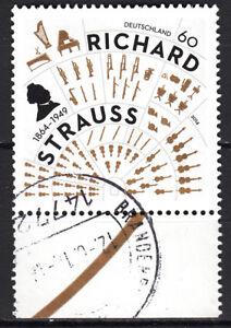 BRD 2014 Mi. Nr. 3086 mit Rand Gestempelt LUXUS!!! (31371)