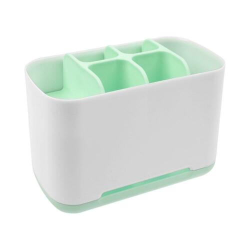 Bathroom Easy Storage Toothbrush Caddy Color Toothpaste Large Organizer BoxCaddy
