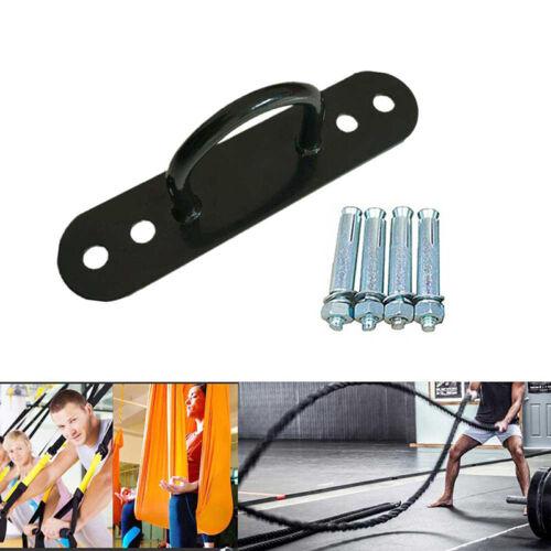 Fixer Climbing Rope Black Metal Battle Rope Swing Sandbag Fixed Hook Parts LH