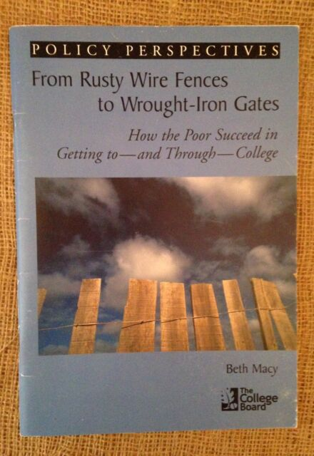 From Rusty Fences to Wrought-Iron Gates, Beth Macy, 1st Ed