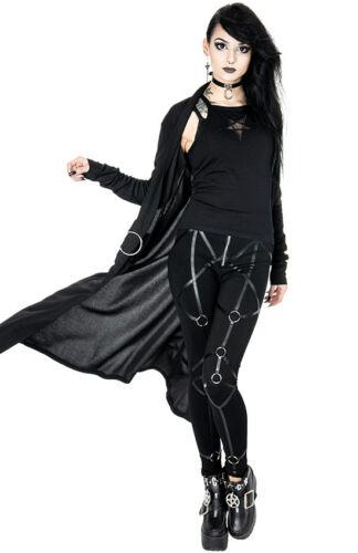 Giacca Restyle Occulto Emo Cardigan Punk Gotico Nightwalker Strega Maglione qwZvY