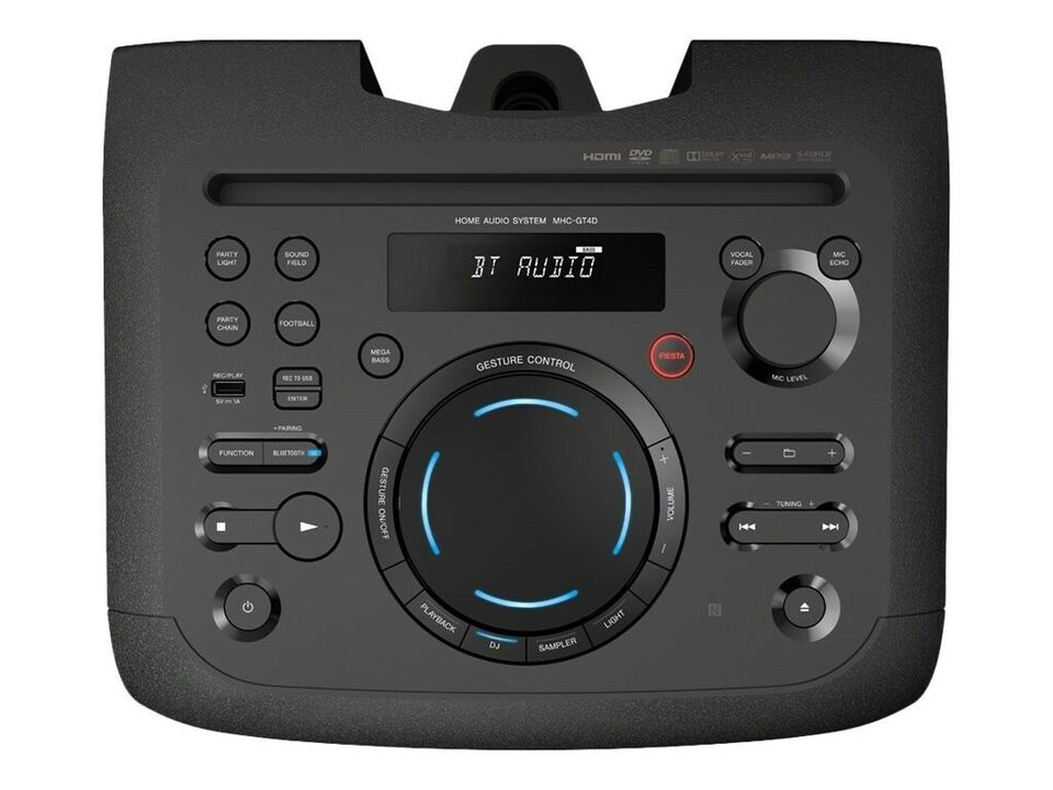 Sony MHC-GT4D Sort