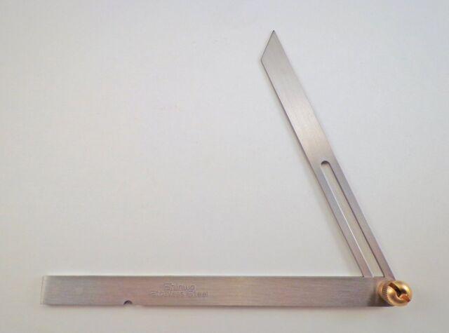 Shinwa sliding adjustable bevel équerre 250mm 62596 japan