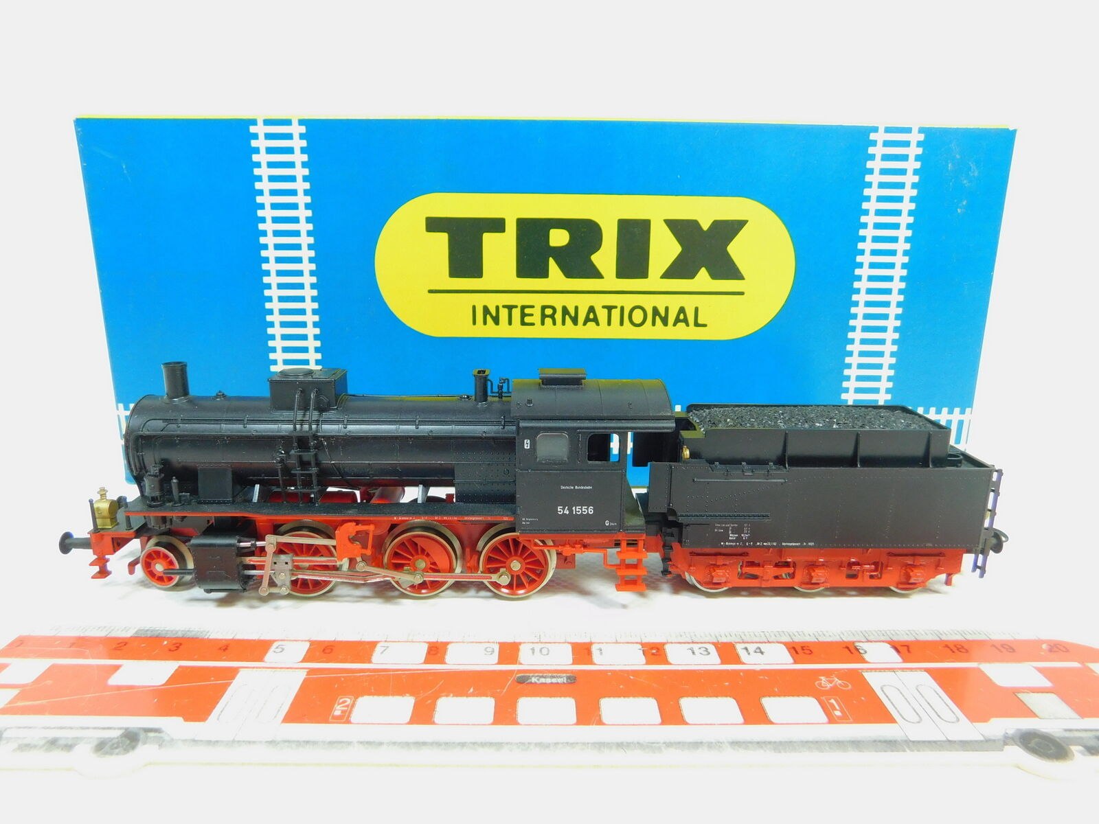 Bo183-1 trix international h0 dc 52 2425 00 steam locomotive 54 1556 db,