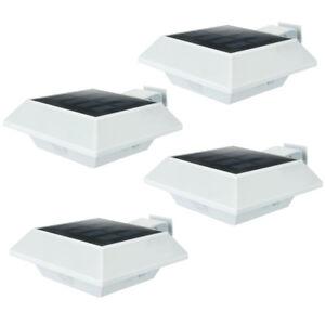 Enkeeo 6LED Solarleuchte Solarlampe Gartenlampe mit Bewegungsmelder Außenleuchte