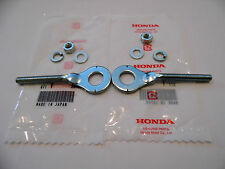 Honda XR70 XR80 XR100 chain adjusters with nuts & washers XL75 XL80