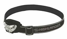 New Vision Headlamp Torch 2+1 LED 170 Adjust Bushcraft Camping Cycling Hiking