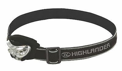 New Vision Lampada Frontale Torcia 2+1 Led 170 Regolare Bushcraft Campeggio Ciclismo Escursioni-