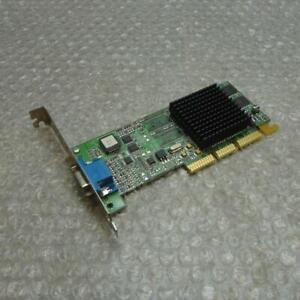 16MB Dell 2G813 Ati Rage 128 Ultra AGP Carte Graphique Vidéo 109-73100-02 02G813