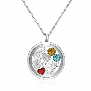 83765595c Image is loading New-Mestige-Narcissus-Floating-Charm-Necklace-Moments- Collection