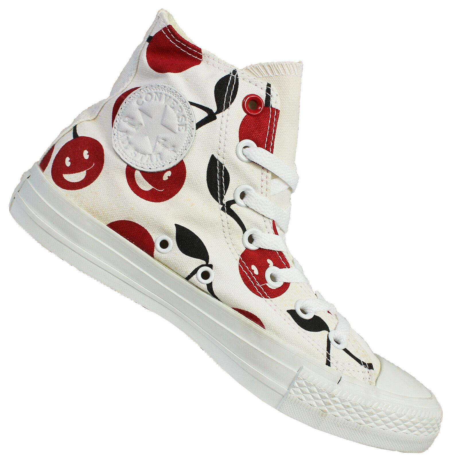 Conversare  Chuck Taylor tutto Star Hi 54790C Trainers Chucks Cherry bianca  ordina ora i prezzi più bassi