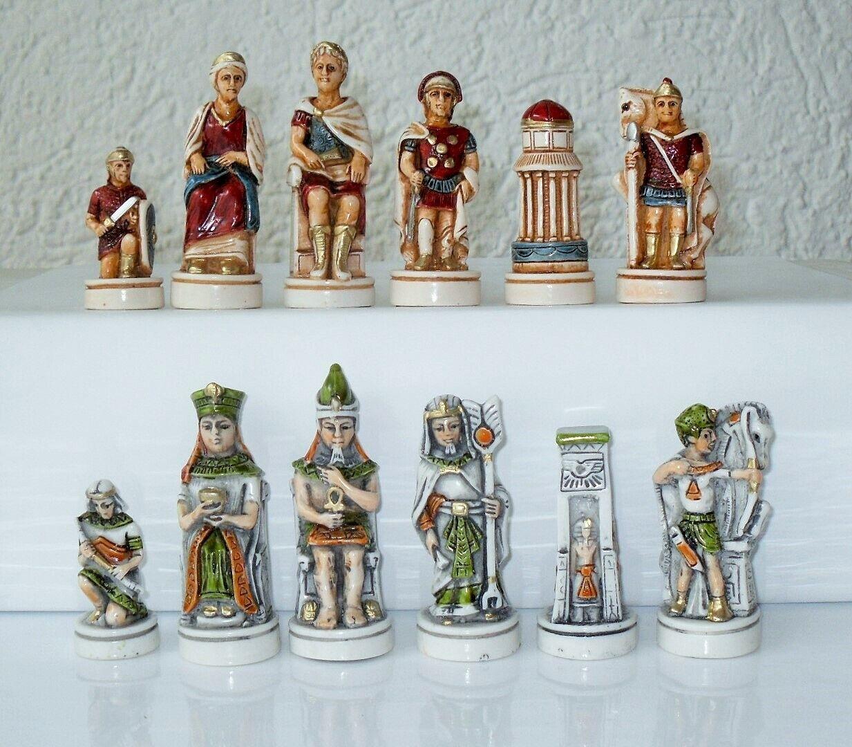 Piezas de ajedrez ajedrez Cleopatra