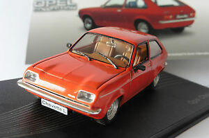 OPEL-CHEVETTE-L-1980-1982-RED-IXO-ALTAYA-1-43-COLLECTION-ROSSO-ROT-ROUGE-NEW