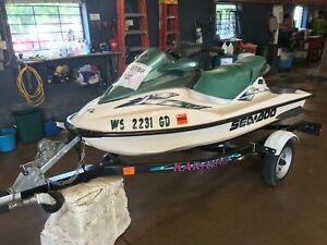 2001 Sea Doo GTI Jet Ski  T1300188