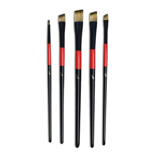 Paint Brush Art Set Nylon Hair Brush Set for Acrylic Oil Watercolor Gouache S