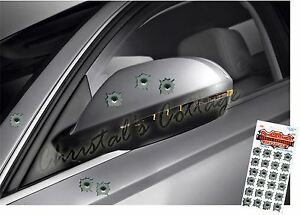 24-Small-Bullet-Holes-Vinyl-Car-Helmet-Removable-Stickers-2cm-Diameter