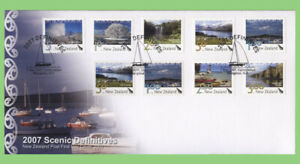 New-Zealand-2007-Scenic-Definitives-issue-First-Day-Cover