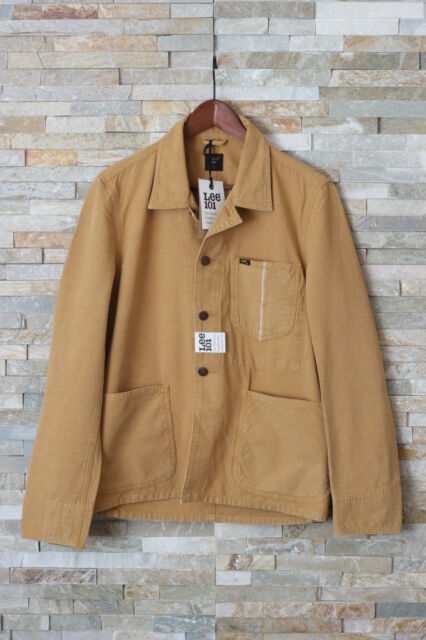 NEW LEE 101 OVERALL Jacket Blazer Denim Selvage Canvas Woven in Japan M/L/XL/XXL