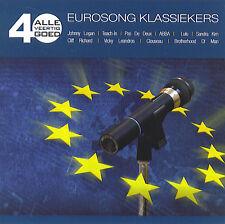 Alle 40 Goed : 40 Eurosong Klassiekers / 40 Eurovision Classics (2 CD)