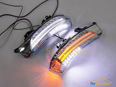10 11 12 13 14 SUBARU TREZIA LED STRIP TURN Signal Mirror Puddle Light Lamp