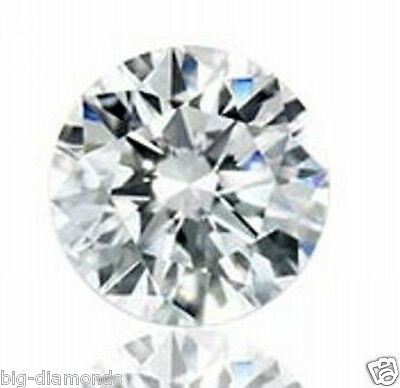0.56cts Natural White 'E' Color I1 IGI Certified Solitaire Diamond 5.30mm