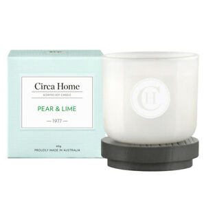 NEW Circa Home Pear & Lime (1977) Soy Wax Candle 60g
