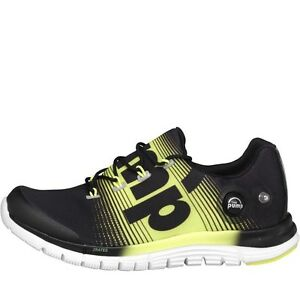 Image is loading REEBOK-ZPUMP-FUSION-NEUTRAL-RUNNING-SHOES-BLACK-YELLOW- 5f636ac22