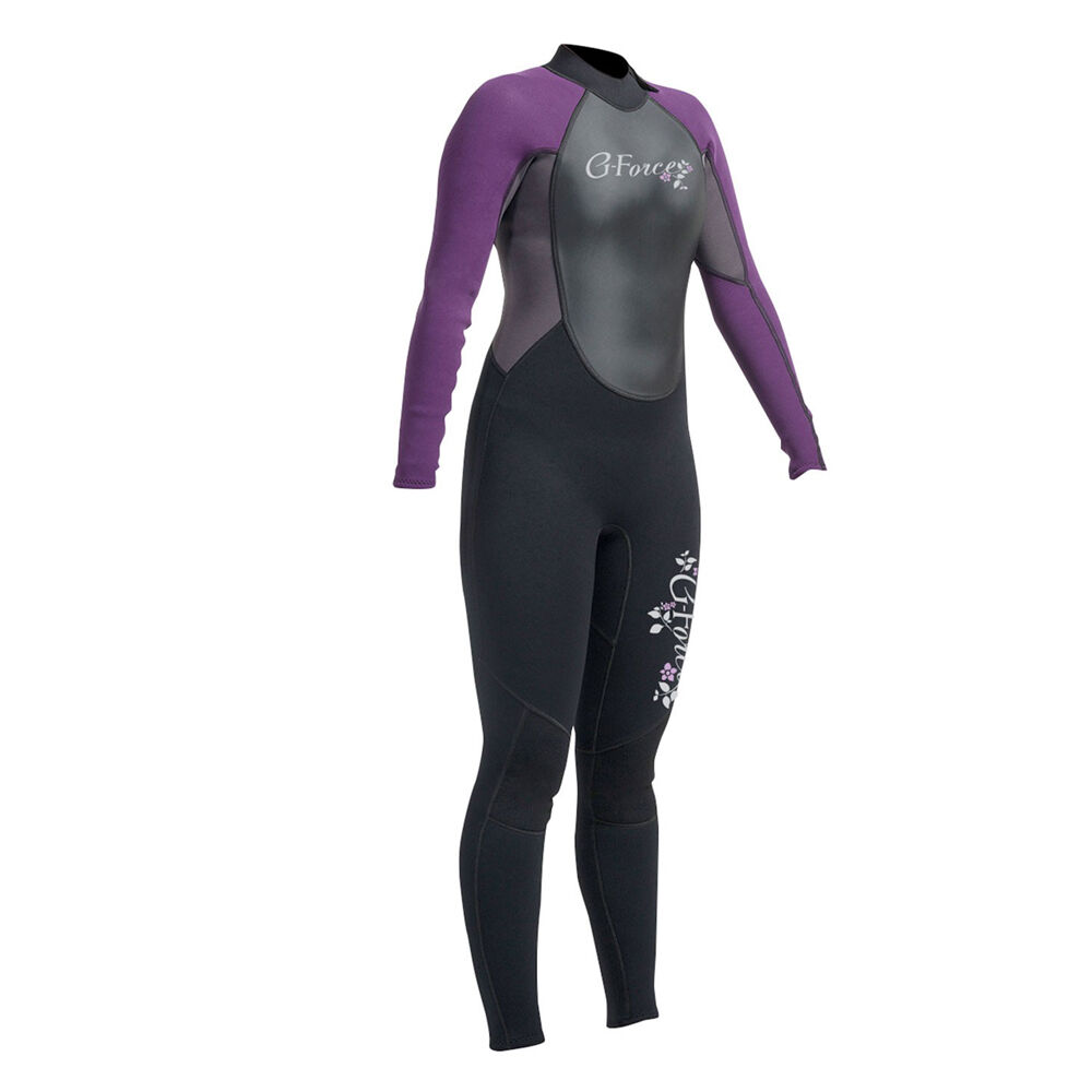 GUL 2019 G-FORCE LADIES 3MM WETSUIT FULL LENGTH SURFING KAYAK SUP CANOE SIZE 8