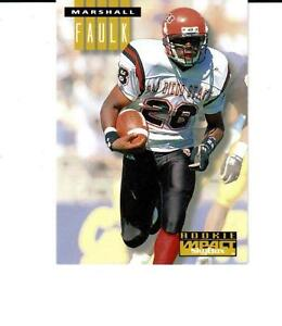 Details About 1994 Skybox Impact 274 Marshall Faulk Rookie Card Colts Rams Hof