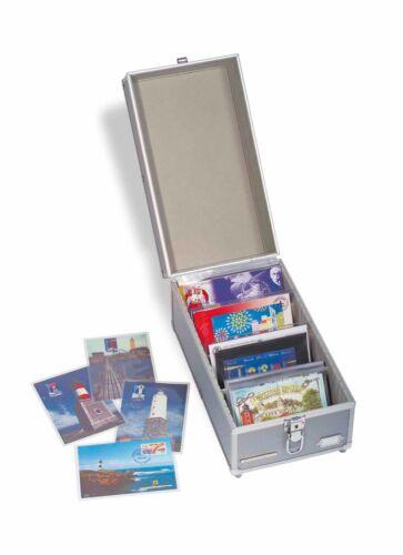 Lighthouse Aluminum Cargo Multi Carrying Case Box CD DJ Postcards US Mint Free