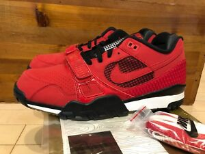 Details about 2007 Nike Air Trainer II SB Supreme Fire Red Black White size  11