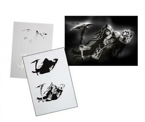 Step-by-Step-Airbrush-Schablone-AS-109-Tattoo-Stencil-UMR-Design