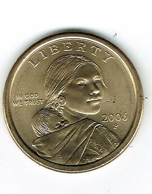 BU 2006 Sacagawea P/&D Dolllars UNcirculated